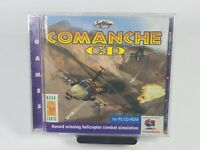 Comanche 1997 PC CD-ROM Helicopter Combat Simulation Video Game for Wndows