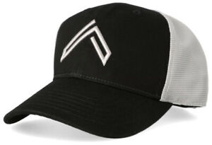 Sig Sauer LEGION HAT, DOUBLE MESH SNAP BACK HAT IN BLACK WITH SILVER MESH