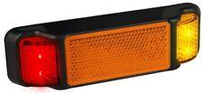 LED Autolamps 38ARM Red/Amber Side Marker Light - 12/24 Volt - ADR Compliant