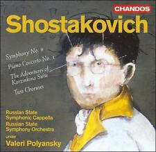 Shostakovich: Symphony No. 9; Piano Concerto No. 1; etc., New Music