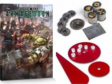 GAMES WORKSHOP SHADOW WAR: ARMAGEDDON RULE BOOK AND ACCESSORIES