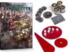 GAMES WORKSHOP SHADOW WAR: ARMAGEDDON RULE BOOK & ACCESSORIES SET