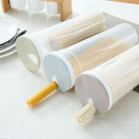 Clear Plastic Storage Box Spaghetti Noodle Food Storage Bottle Container Home