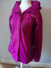 Ladies Regatta Adventure Tech Waterproof Jacket size 12 - Purple/Pink