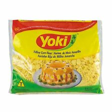 Yoki Yellow Corn Flour 17.6 oz - Farinha Biju de Milho Amarela 500g