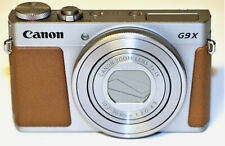 Near Mint Canon PowerShot G9X Digital Camera with 3x Optical Zoom Built-in Wi-Fi