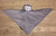 Eddie Bauer Grey Owl Baby Plush Blanket Lovey Nunu Attachable Loop Security
