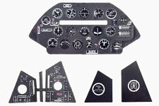 F4U-5 CORSAIR 3D, PE, COLORED INSTRUMENT PANEL TO HASEGAWA, ETC #4841 1/48 YAHU