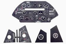 F4U-5 CORSAIR 3D, PE, COLORED INSTRUMENT PANEL TO HASEGAWA, ETC #4841 1/48 YAHU