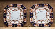 Pair Of Stunning Vintage/Antique St Michael China Side Plates/Imari/Fine Bone