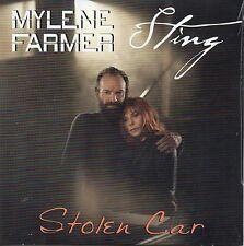 CD Single Mylène FARMER & Sting Stolen Car (Version Single + Instrumentale) 2-tr