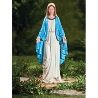 The Blessed Mother Virgin Mary Indoor/Outdoor Garden Statue