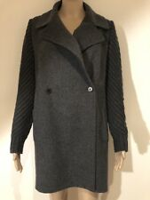 100% Authentic VINCE Anthracite Grey 90% Wool Coat size XS