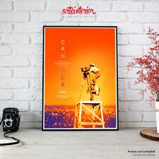 72° Festival de Cannes 2019 - Impression Fine Art Print Poster Manifesto Affiche