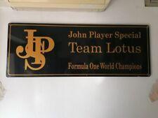 1980s John Player Special Team Lotus sign