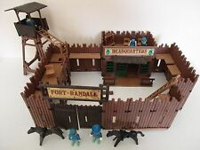PLAYMOBIL SET 3419 FORT RANDALL - WESTERN PLAYMOBIL VINTAGE 1984