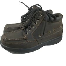 Sonoma Men's Boots Leather Ankle Hiking Shoe Outdoor Size 10 Brown