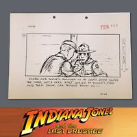 INDIANA JONES & THE LAST CRUSADE, Production Used Storyboard, Young Indy Fights