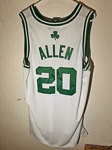 ADIDAS NBA SWINGMAN BOSTON CELTICS RAY ALLEN WHITE THROWBACK JERSEY 2XL