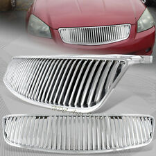 For Nissan Altima 4 DR SE / SL Chrome VIP Vertical ABS Front Hood Grill Grille
