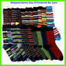 6 PAIRS MENS STRIPE MULTI COLOUR EVERYDAY NOVELTY SOCKS SIZE 6-11