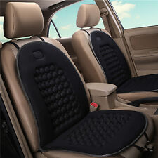 UNIVERSAL COMFORTABLE CAR VAN SEAT CUSHIONS COVER BLACK MASSAGE HEALTH PROTECTOR