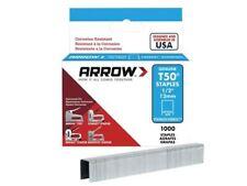 ARROW T50 punti in acciaio inox 508SS 12 mm (1/2in) BOX 1000