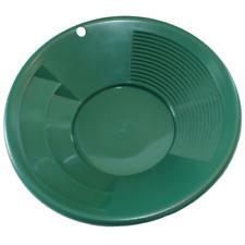 "New listing 10"" Green Dual Riffle Plastic Gold Pan Nugget Mining Dredging River Panning"