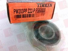 TIMKEN PW203PP-Z22-P-FS5000 (Brand New Current Factory Packaging)