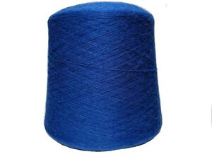 Alpaca Yarn on Cone - Blue - Lace Weight - 1KG