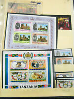 British Royalty Stamps Collection Of Sets And S/S