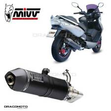KYMCO XCITING 300 Full exhaust MIVV Stronger 2007-2014 Steel Black