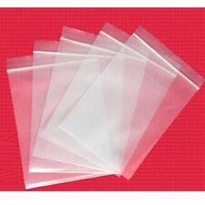100pcs/Pack Clear Ziplock Zipped Lock Reclosable Plastic Poly Small Bags 8*12cm
