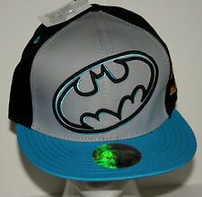Official The Batman  DC Comics  Snap Back Cap Hat New Tags OSFA 2012 $20 Value