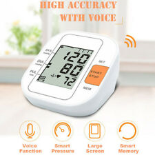 Upper Arm Blood Pressure Monitor Digital LCD Heart Beat Rate Pulse Meter 99 Read