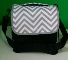 Designer Grey Chevron NEW Camera Bag, QVC SHOULDER STRAP ALL PURPOSE bag