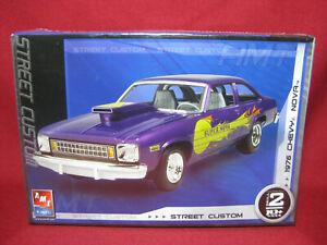 1976 Chevy Super Nova Street Custom 76 AMT Ertl 1:25 Model Kit 38277