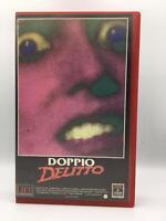 VHS FILM ITA - DOPPIO DELITTO di Skip Schoolnik VIDEOCASSETTA DA COLLEZIONE