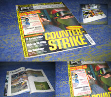 PC Action Counter-Strike Sonderheft 1/2002 2 CDs über 1350MB Addon Mods Tools