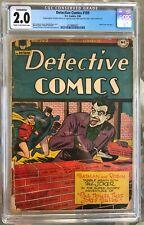Detective Comics #109 (1946) CGC 2.0 -- Jack Burnley Joker cover; Conserved