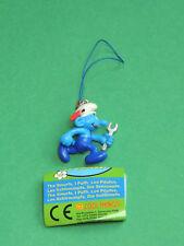 Schtroumpf Bricoleur figurine Porte-clés 3D Bijoux strap charm Cool Things Smurf