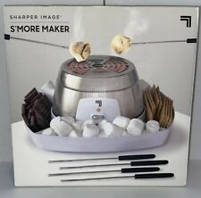 S'more Maker Stainless Steel 4 Skewers & Plastic Serving Tray Roast Marshmallows