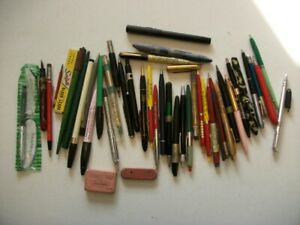Lot of old Made in USA pens and pencils