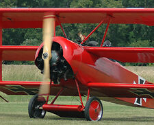Huge Giant 1/2 Scale German WW-I Fokker DR-1 Triplane Plans & Templates 141ws