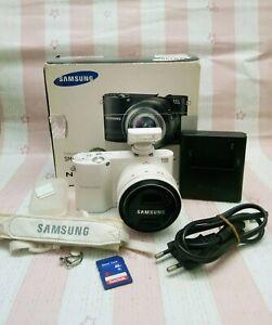Samsung  NX1000 20.3MP Smart Digital Camera - White (Kit w/ ED 20-50 mm Lens)