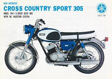 YAMAHA YM1 CROSS COUNTRY SPORT 305 SALES/SPECS AD