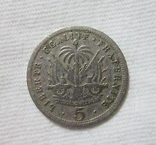 HAITI. 5 CENTIMES, 1905.