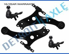 Both (2) New Front Left & Right Lower Control Arm Assembly + 2 Lower Ball Joints