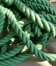 12 mts Twisted cord rope Fancy dress 16mm Diameter Green decorative cord