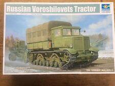 Model Kit Trumpeter 01573 1/35 Soviet Russian Voroshilovets Tractor Field Guns